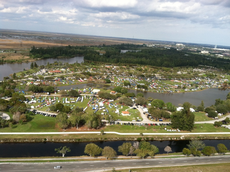 2012 camporee aerial view